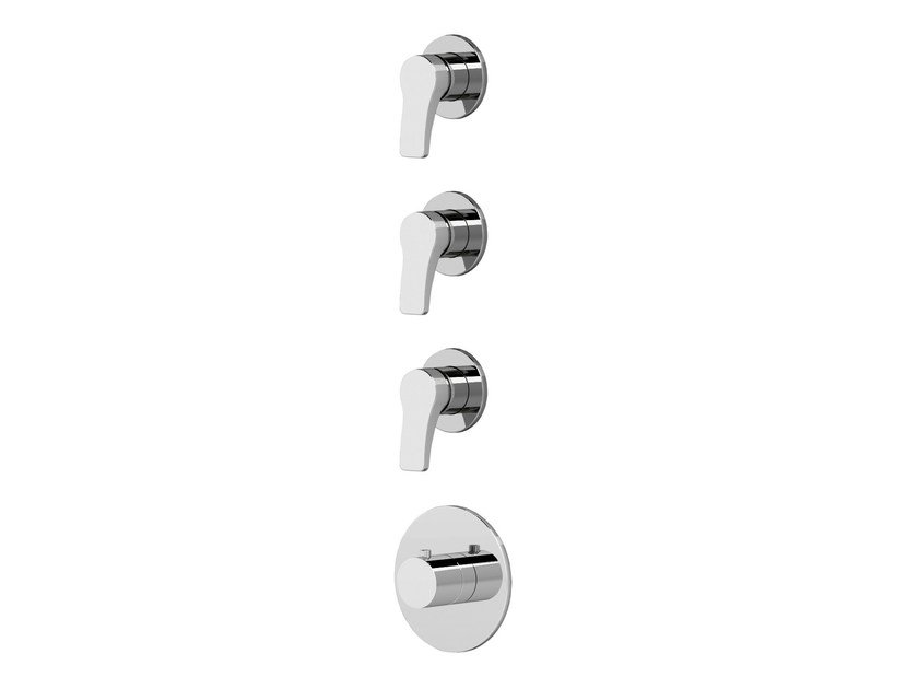 4 hole thermostatic shower/bathub mixer AL/23 | 4 hole thermostatic shower mixer by ABOUTWATER