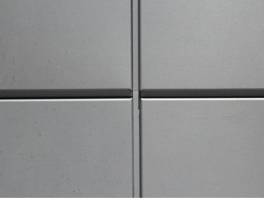 Continuous metal laminate for facade AZENGAR® by UMICORE VMZINC