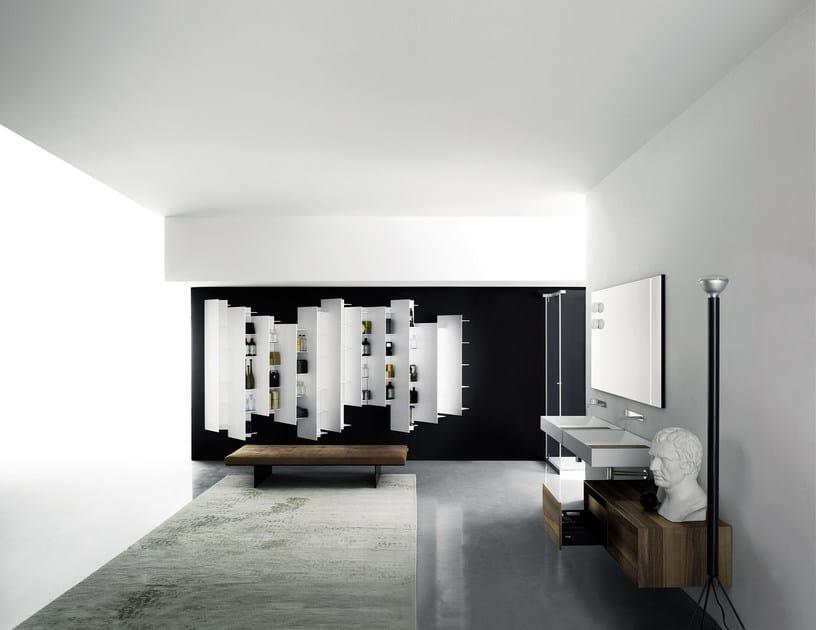 Wall Mounted Cristalplant 174 Washbasin A45 By Boffi Design