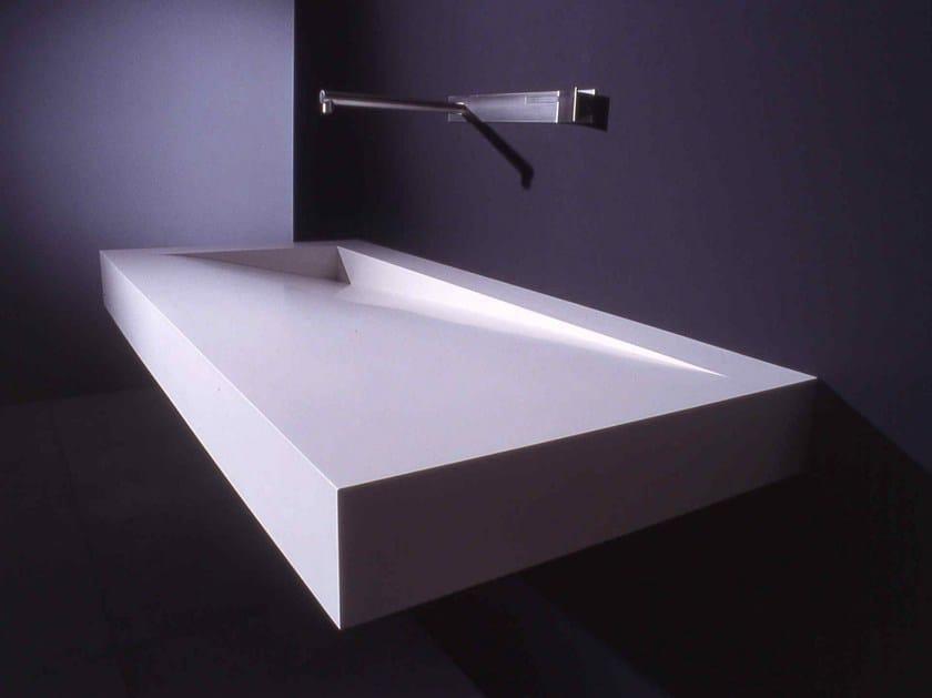rechteckiges waschbecken aus corian folio by boffi design. Black Bedroom Furniture Sets. Home Design Ideas