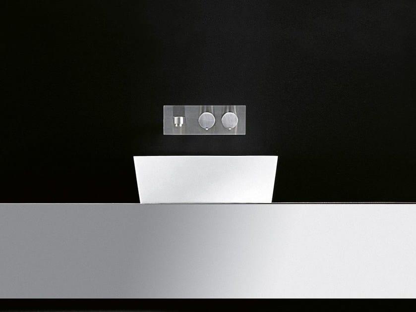 Countertop Cristalplant® washbasin GOBI   Countertop washbasin by Boffi