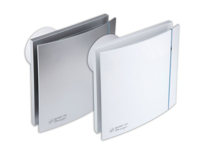 Outlet and diffuser for channelled system SILENT 100 DESIGN by S & P Italia