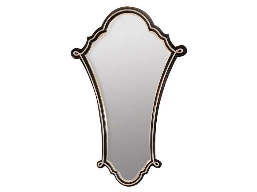 Wall-mounted framed mirror AGNES by GENTRY HOME