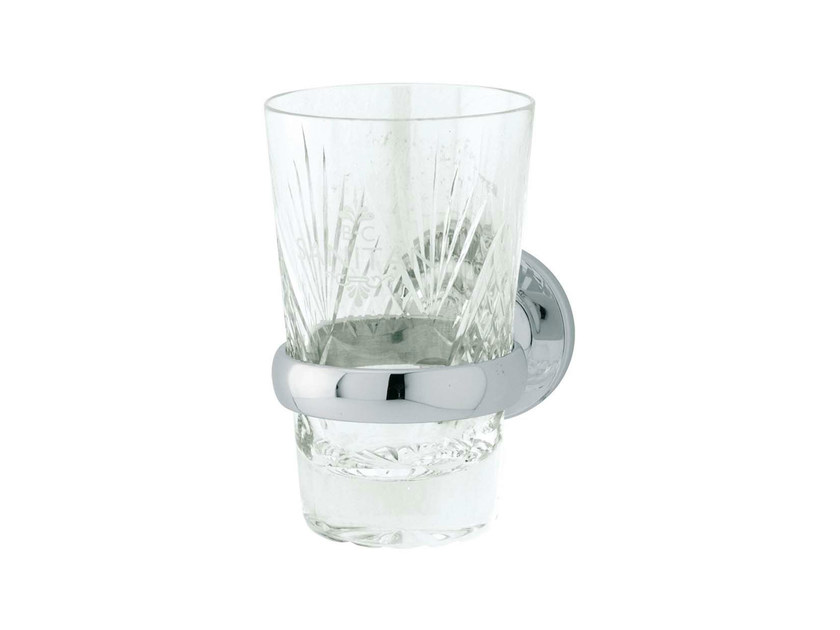 Crystal toothbrush holder OXFORD | Crystal toothbrush holder by GENTRY HOME