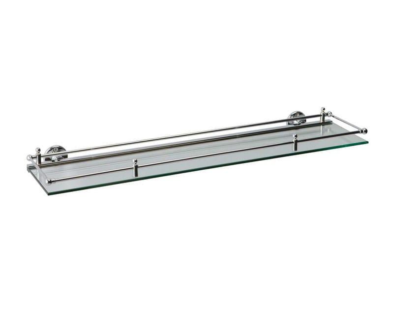 Glass bathroom wall shelf QUEEN | glass bathroom shelf by GENTRY HOME