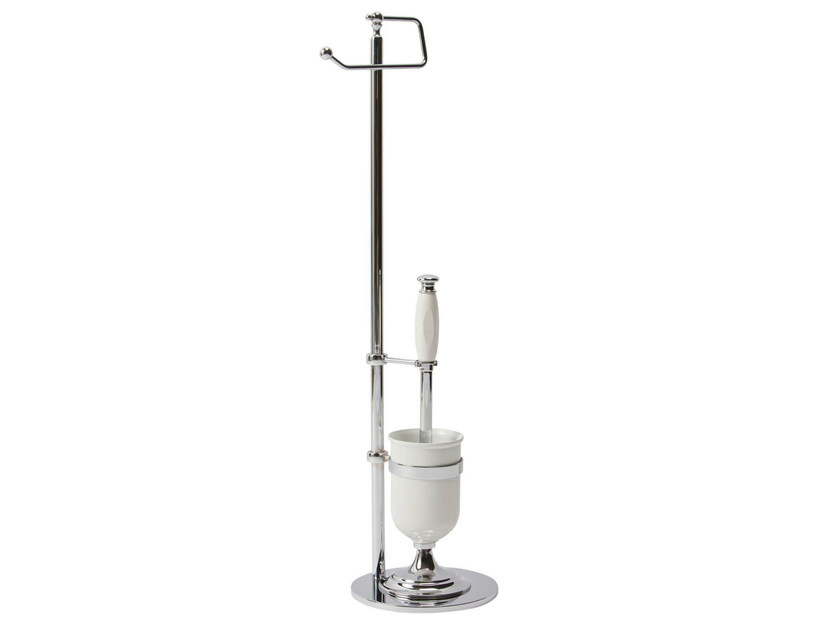 Ceramic toilet brush QUEEN | toilet wc brush free standing by GENTRY HOME