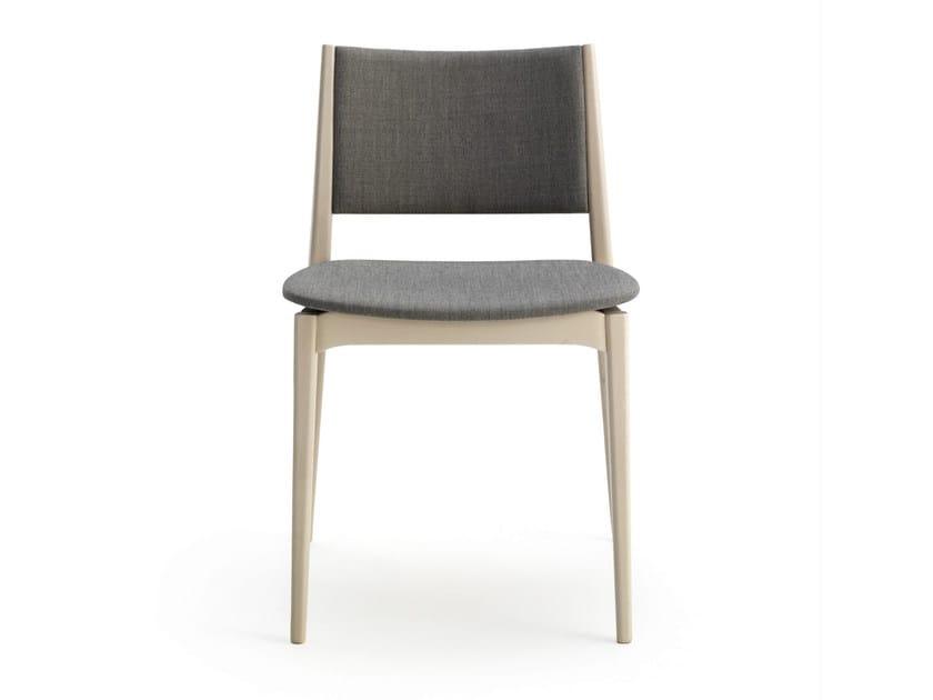 Upholstered fabric chair BLAZER | Fabric chair by BILLIANI