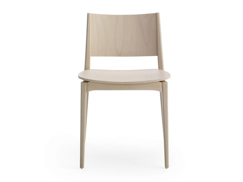 Wooden chair BLAZER | Chair by BILLIANI