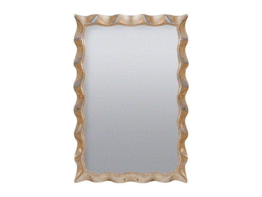 Rectangular wall-mounted framed mirror AMELY by GENTRY HOME