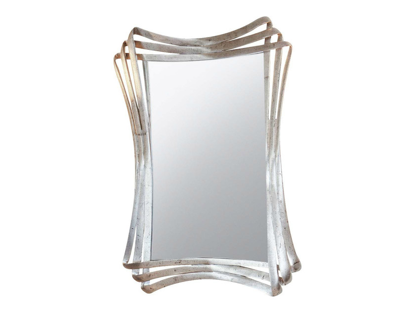 Wall-mounted framed mirror ALINE by GENTRY HOME