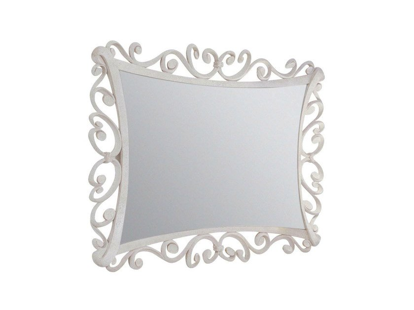 Wall-mounted framed mirror ANNE by GENTRY HOME