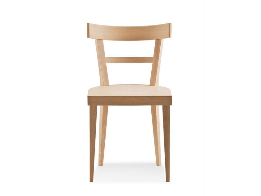 Beech chair CAFÈ | Chair by BILLIANI