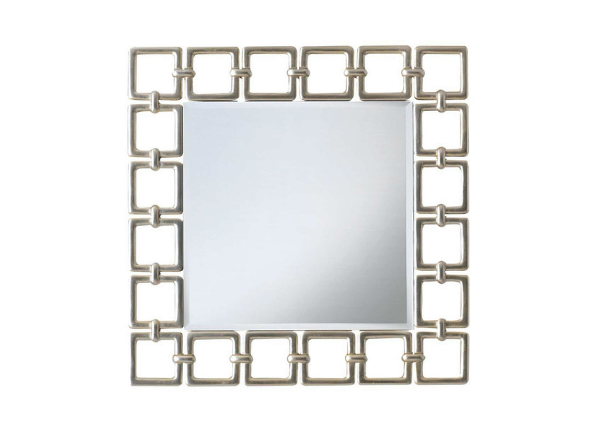 Wall-mounted framed mirror MAYA by GENTRY HOME