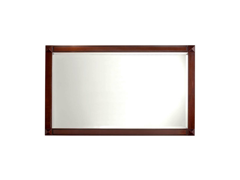 Wall-mounted framed mirror CHESTER MIRROR by GENTRY HOME