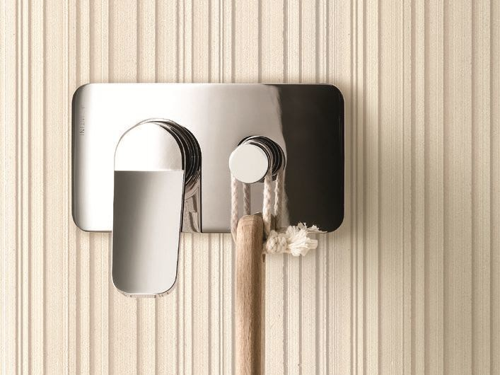 Shower mixer with plate LEVANTE | Shower mixer by Fantini Rubinetti