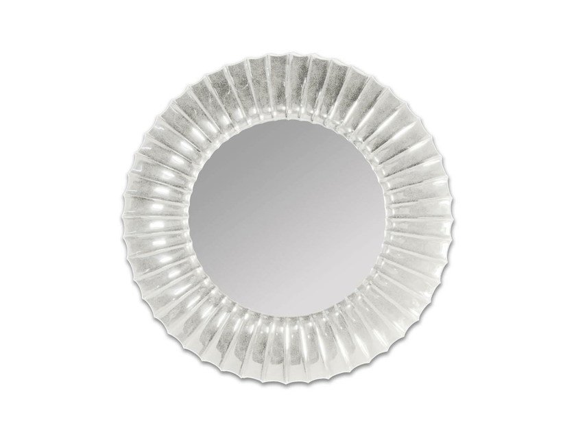 Framed round bathroom mirror JOY by GENTRY HOME