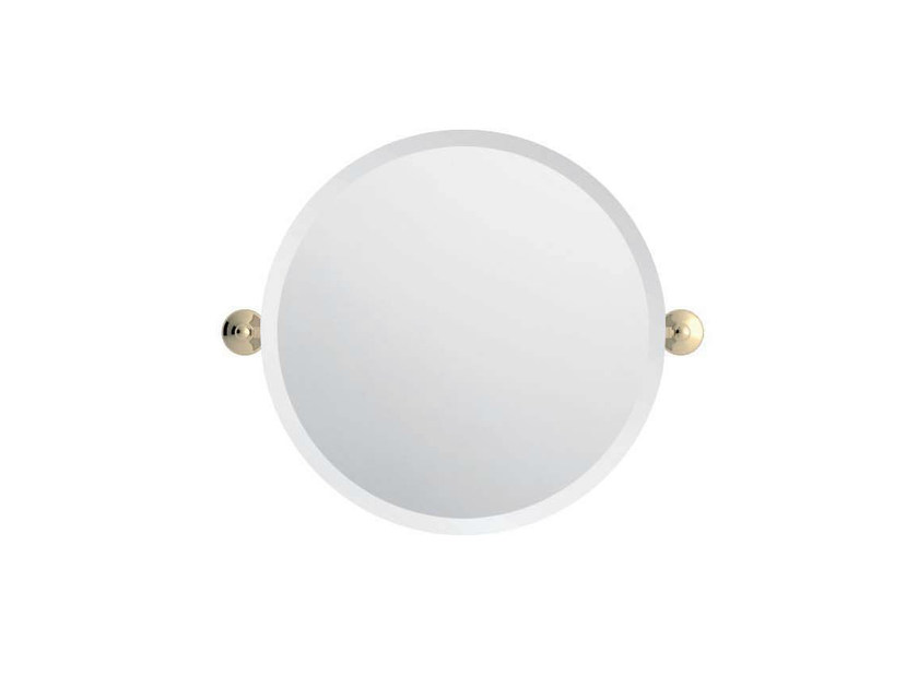 Tilting round bathroom mirror DIANA by GENTRY HOME