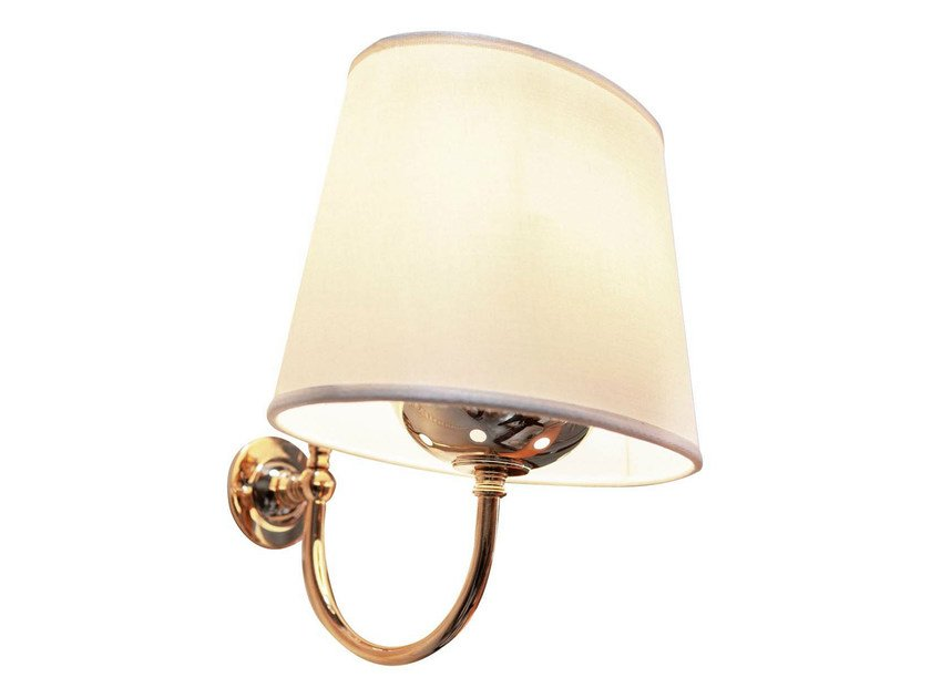 Fabric bathroom wall lamp WHITE CLOUD by GENTRY HOME