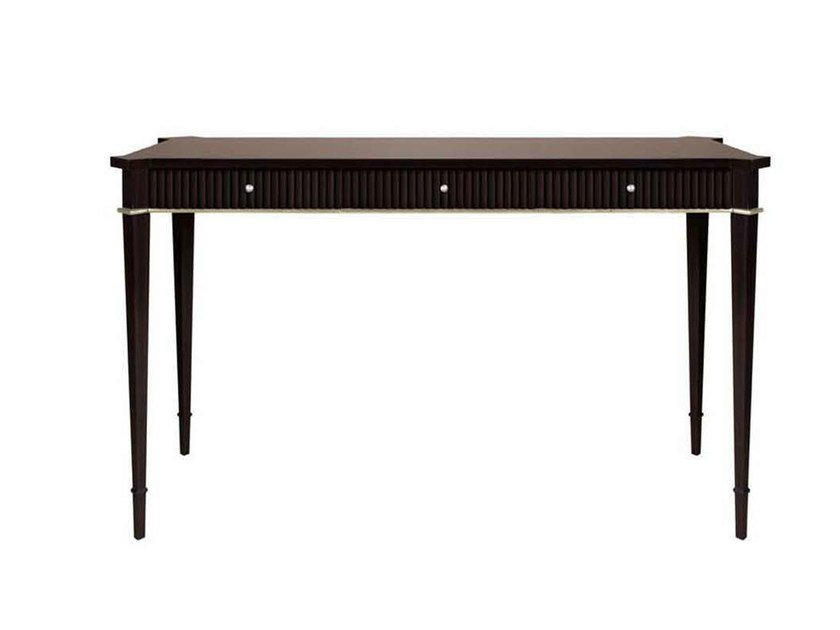 Mahogany writing desk with drawers GILBERT by GENTRY HOME