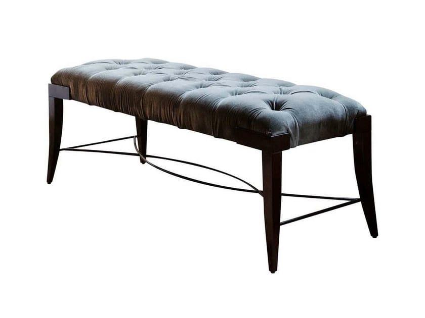 Velvet bench PARKER by GENTRY HOME