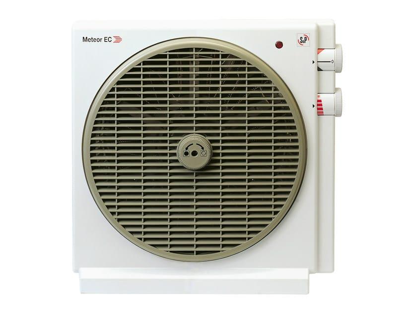 Heater fan METEOR EC by S & P Italia