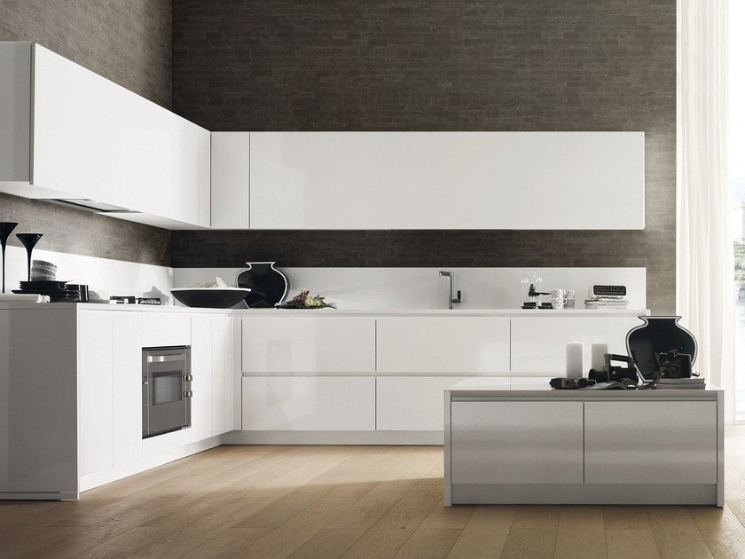Fitted kitchen CRETA CORNER by Del Tongo