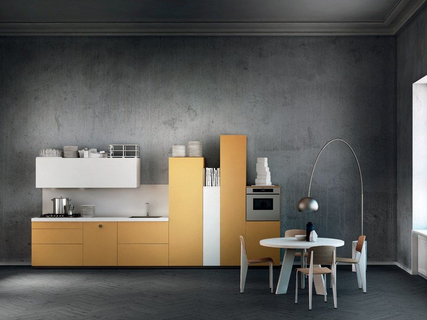 Fitted kitchen MILANO by Del Tongo