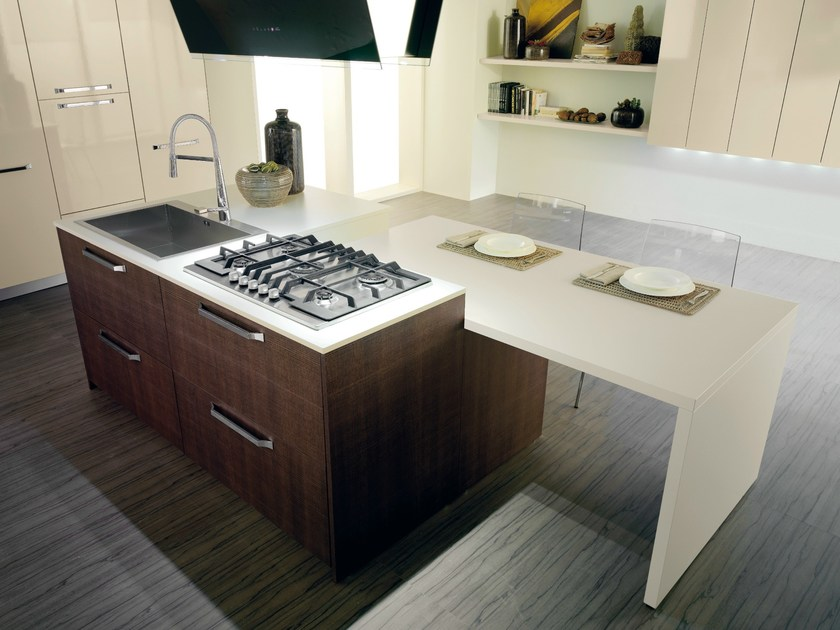 Fitted kitchen MARATEA by Del Tongo