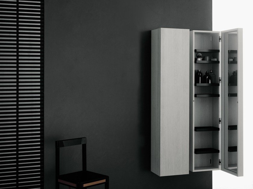 Sectional storage bathroom cabinet PIANURA | Bathroom cabinet by Boffi