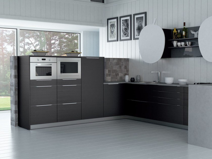 Fitted kitchen VALENCIA by Del Tongo