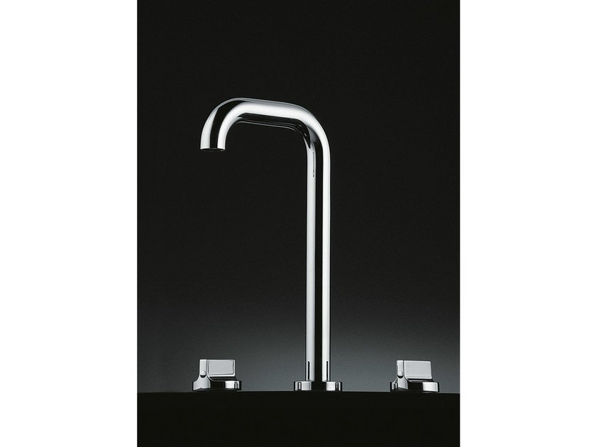 Chromed brass washbasin tap LIQUID | Washbasin tap by Boffi