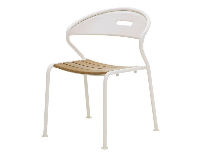 Stackable garden chair CURVE by Gloster