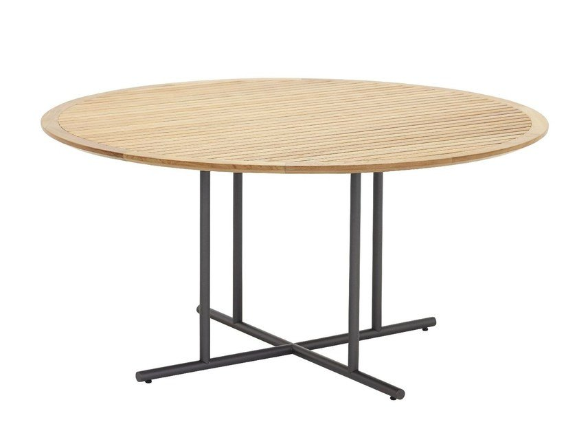 Round garden table WHIRL | Garden table by Gloster