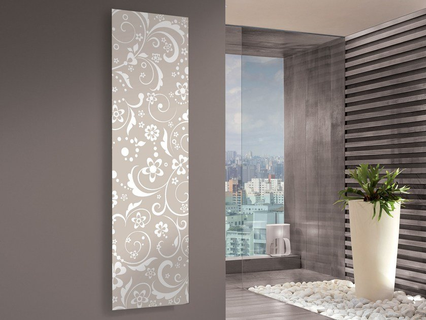Vertical panel radiator IRIS by CORDIVARI