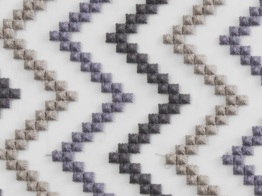 Pique fabric with graphic pattern SIRICAIA by Aldeco