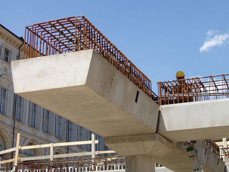Reinforced concrete beam for bridge Trave by APE