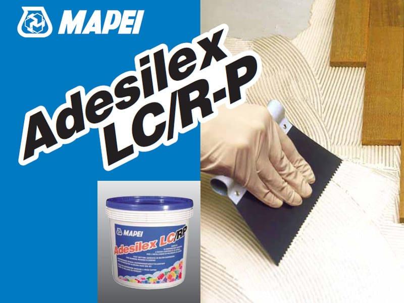 Wood-flooring adhesive ADESILEX LC/R-P by MAPEI