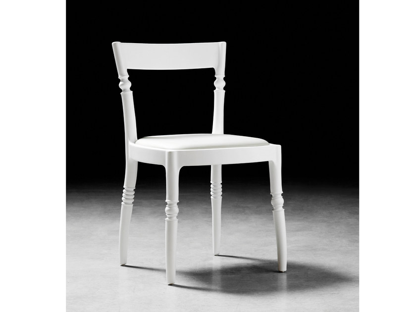 Upholstered fabric chair TOCCATA & FUGA   Chair by BILLIANI
