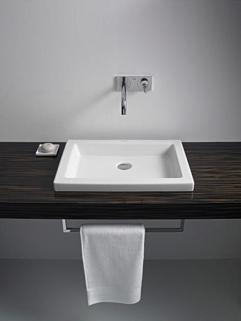 2nd floor inset washbasin by duravit design sieger design. Black Bedroom Furniture Sets. Home Design Ideas