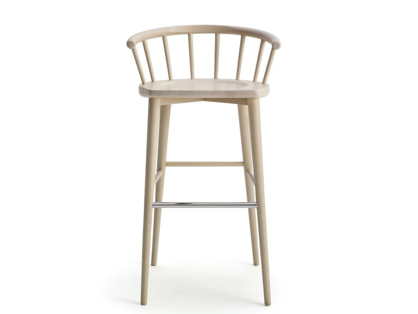 Beech chair with armrests W. | Chair by BILLIANI