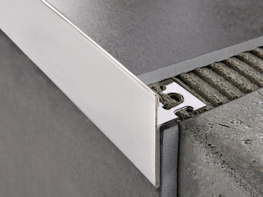 Glossy steel Step nosing PROTERMSTEP ACC by PROGRESS PROFILES