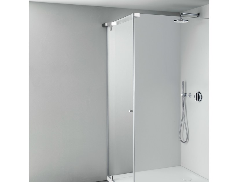 Shower cabin with tray TAPE by Boffi