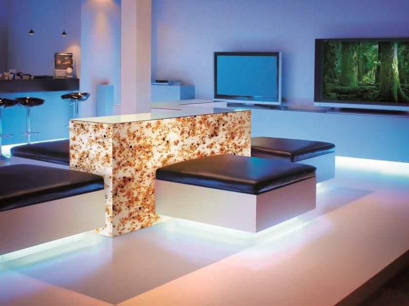 Melamine Shop furnishing FOSSIL by dekodur