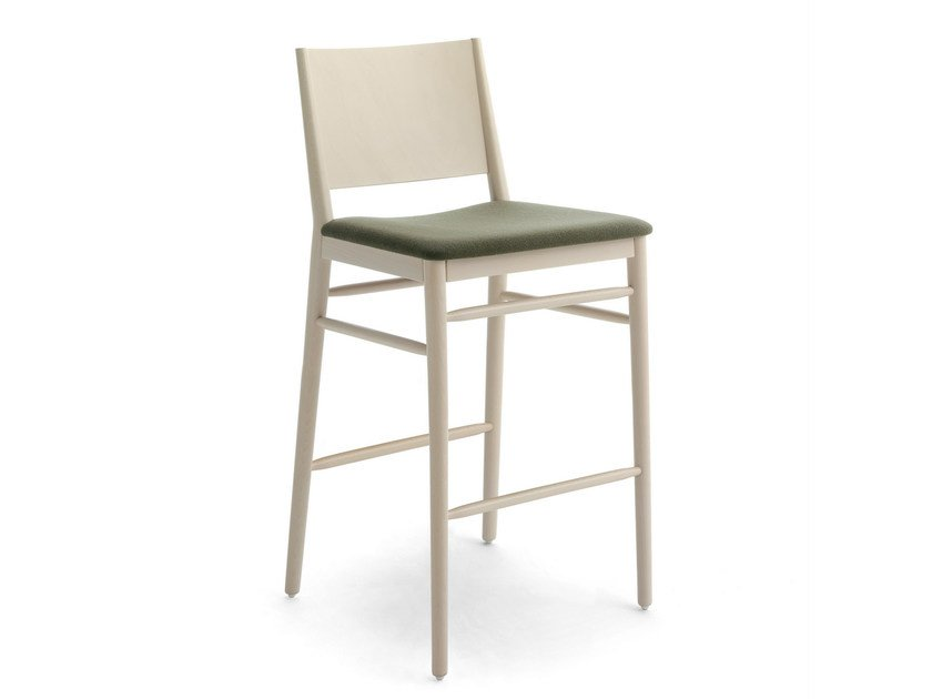 Upholstered fabric chair TRACY | Chair by BILLIANI