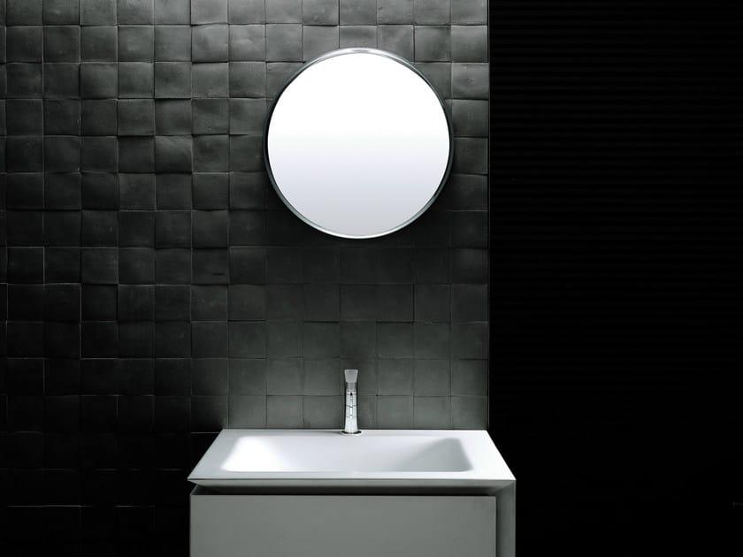 Wall-mounted bathroom mirror MERCURY | Round mirror by Boffi