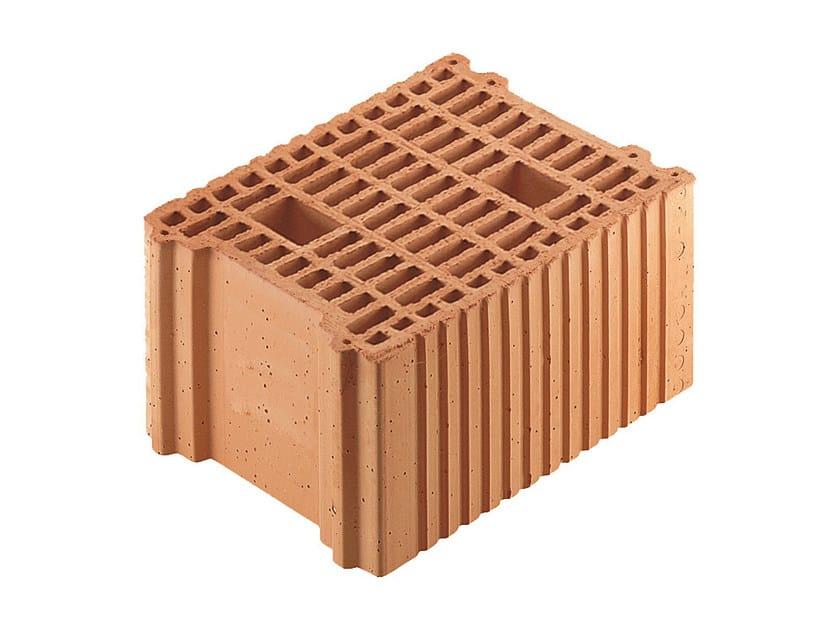 Loadbearing clay block for reinforced masonry Porotherm BIO PLAN 25-33/19,9 by Wienerberger