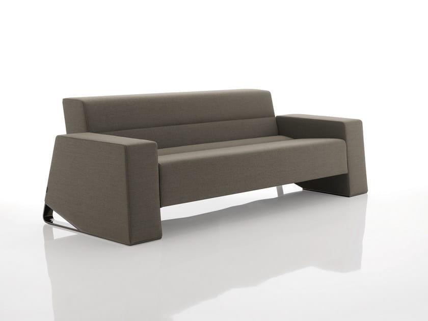 Fabric sofa INKA STEEL M 300 ST D by BILLIANI