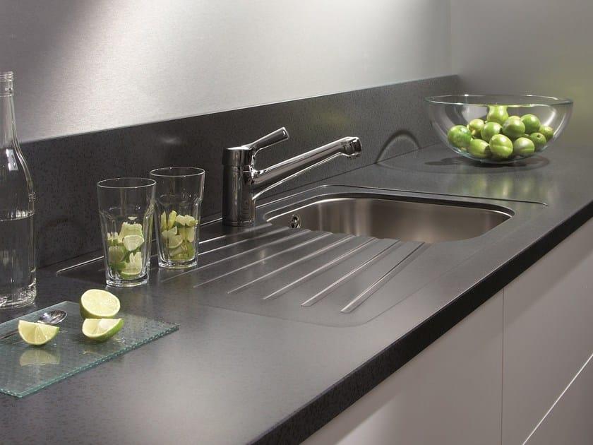 Top cucina / lavello in Solid Surface GETACORE® | Lavello a una ...