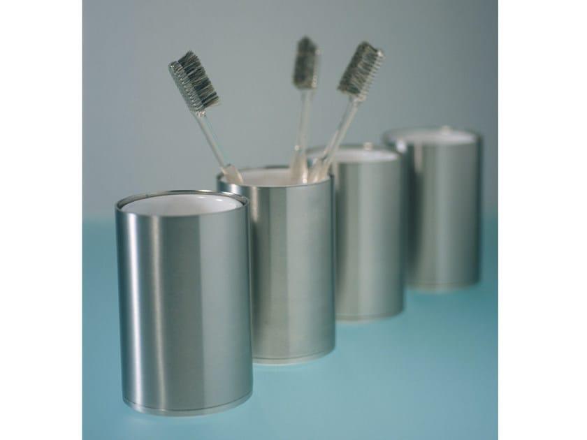 Stainless steel toothbrush holder MINIMAL | Toothbrush holder by Boffi
