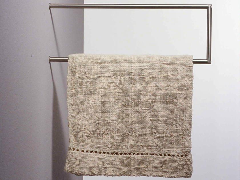 Stainless steel towel rail MINIMAL | Towel rack by Boffi